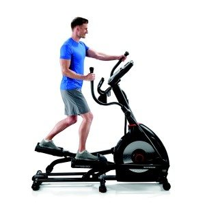 upper and lower body cardio elliptical machine