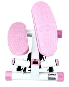 pink sunny health & fitness twister stepper